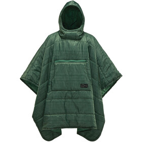 Therm-a-Rest Honcho Poncho green print